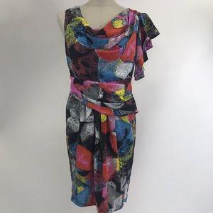 Julie Dillon colored dress